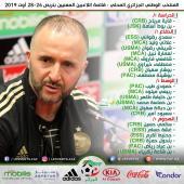 المنتخب الوطني .. قائمة اللاعبين المعنيين بتربص المحليين تحضيرا لمواجعة المغرب 27