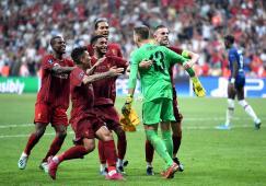 ليفربول بطلا للسوبر الأوروبي للمرة الرابعة في تاريخه 27
