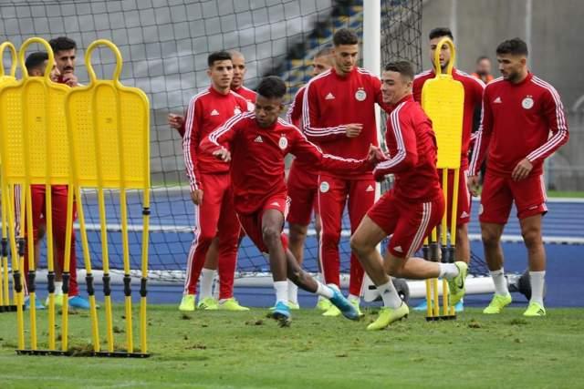 صور آخر حصة تدريبية للخضر قبل المواجهة الودية أمام المنتخب الكولومبي 27