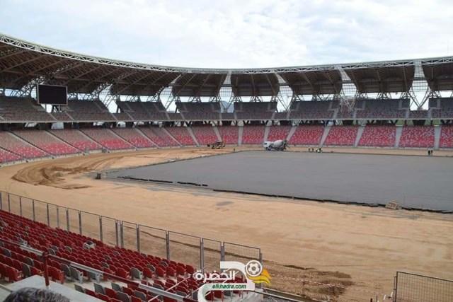 صور من ملعب وهران الجديد اليوم 28