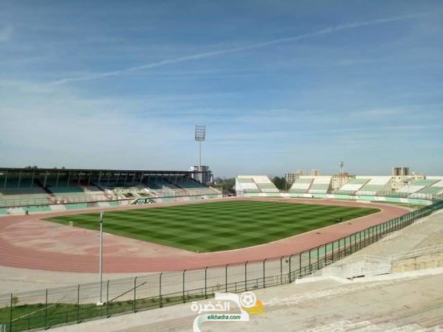 بالصور : أرضية ملعب مصطفى تشاكر جاهزة لإحتضنان مباراة الجزائر وزيمبابوي 26