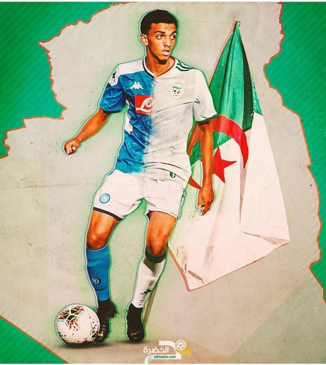 لاعب نابولي كريم زدادكة يعلن رسميا اختياره تمثيل الجزائر 25