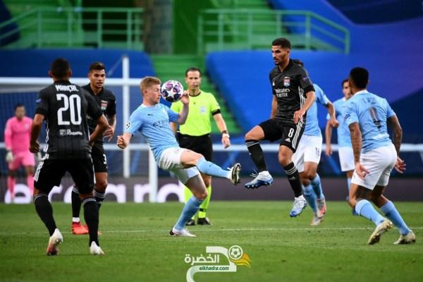 ليون 3-1 مانشستر سيتى : نهاية الرحلة لرياض محرز في البطولة الأوروبية! 25