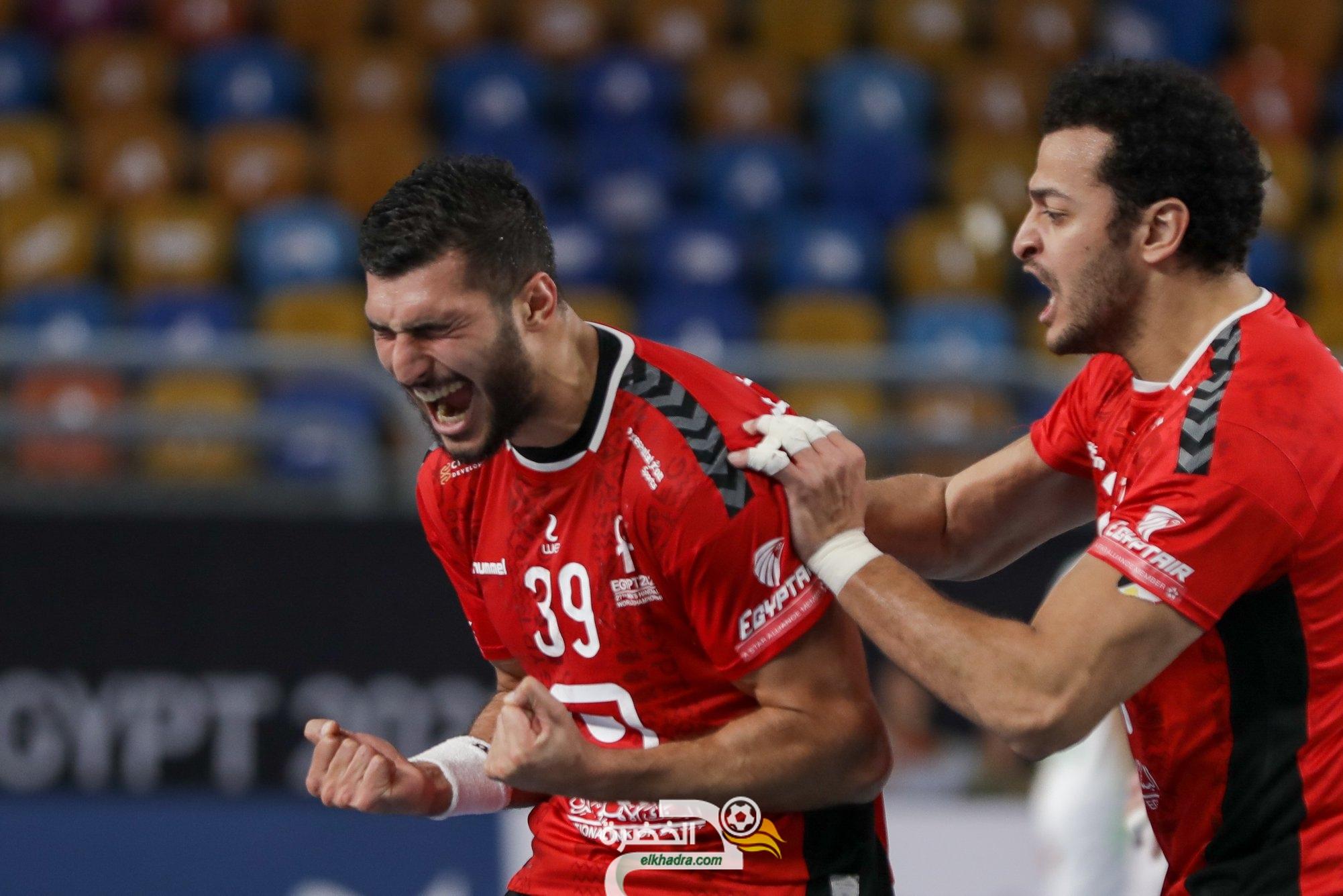 منتخب مصر لكرة اليد يتأهل إلى ربع نهائي بطولة العالم