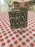 Grandparent Day Table Decor