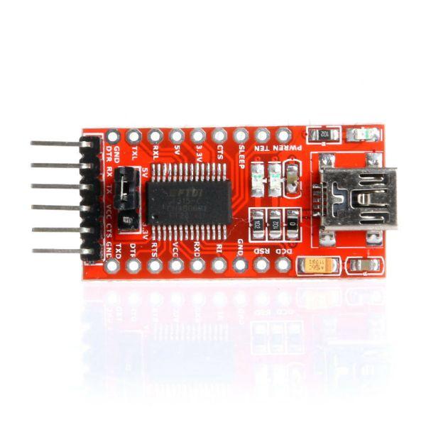 USB til Seriell - FT232RL serial Serial02