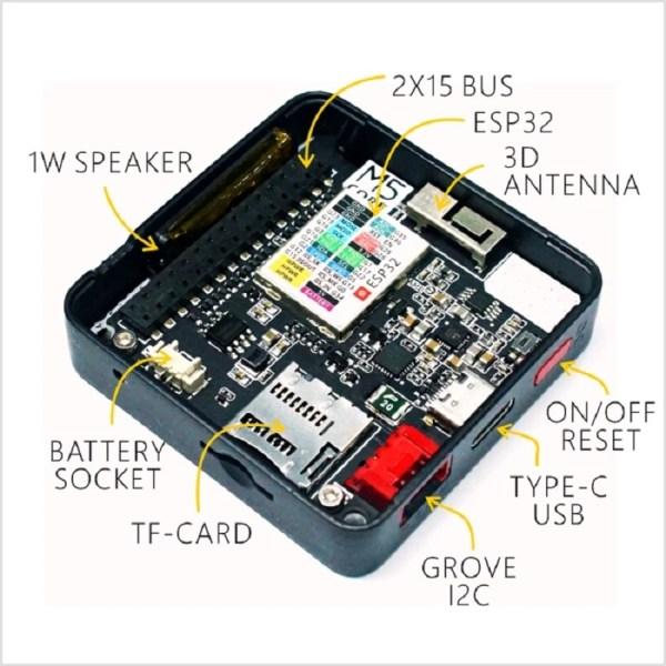 M5Stack - ESP32 Basic Core IoT Development Kit img 6167