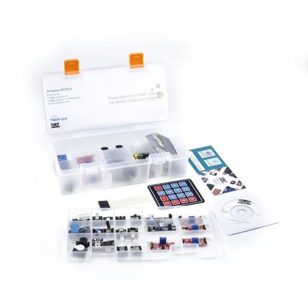 Arduino Kit med 37 sensormoduler versjon 2.0 - Sensor Modules Kit for Arduino, NodeMCU, Raspberry Pi osv Sensorkit 37sensorv2 3 9bc0809f 57b0 4fbe 9220 7774944addde