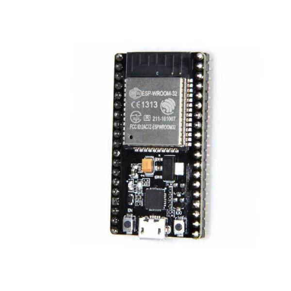 ESP32 NodeMCU utviklingskort 2.4GHz WiFi Bluetooth Dual Mode CP2102 ESPRESSIF wroom ESP3204 1