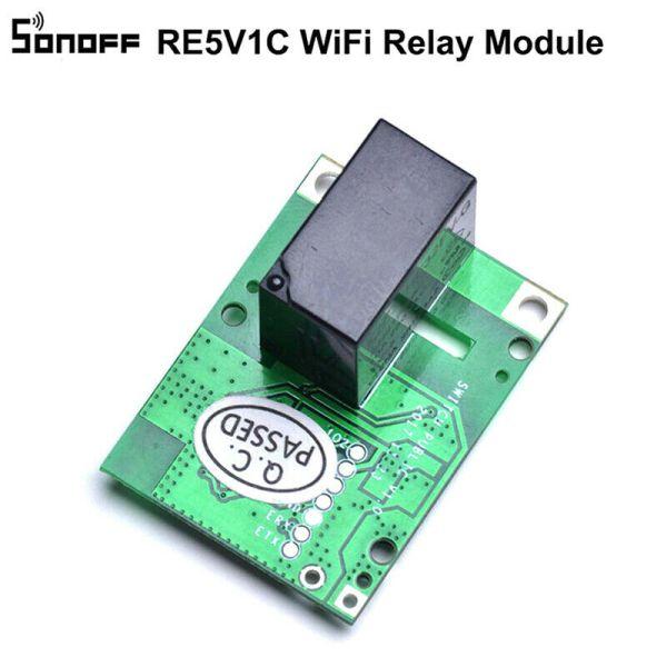 SONOFF Smart Wifi relemodul RE5V1C 5V DC Wireless Remote Switch Relay rele ModulWT6 Sonoff06