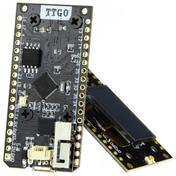 2 stk LORA32 868Mhz SX1276 ESP32 Oled-Display Bluetooth WIFI Lora Development Board img 6741 1