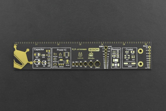 Antagelig verdens tøffeste linjal (16cm/6,3inch) Linjal DWG0014 M detail