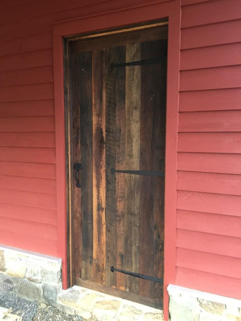 Chestnut doors