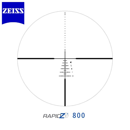 Zeiss Conquest HD5 3-15 x 42 RZ 800 Reticle (82) Hunting