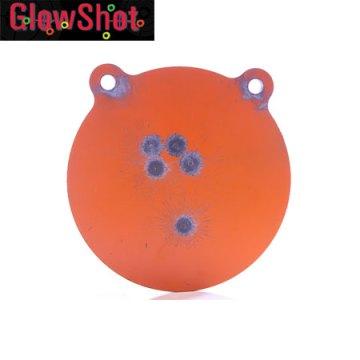 Glow Shot 100mm Steel Target.