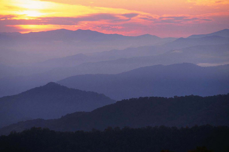 Fall In The Smoky Mountains Wallpaper 4 Fantastic Fall Overlooks Not To Miss Near Gatlinburg