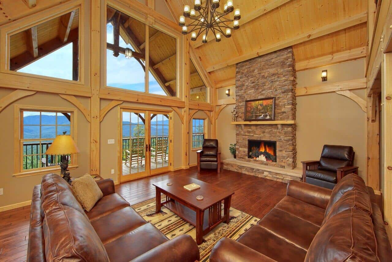 Amazing Views Retreat cabin in Gatlinburg  Elk Springs Resort