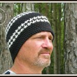 Houndstooth Hat by ELK Studio