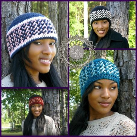 Seasonal Bliss beanie and headband by ELK Studio