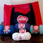 Red Heart Yarn Sent Me Goodies!
