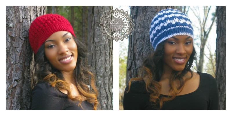 Mystic Free Beanie Crochet Pattern by ELK Studio