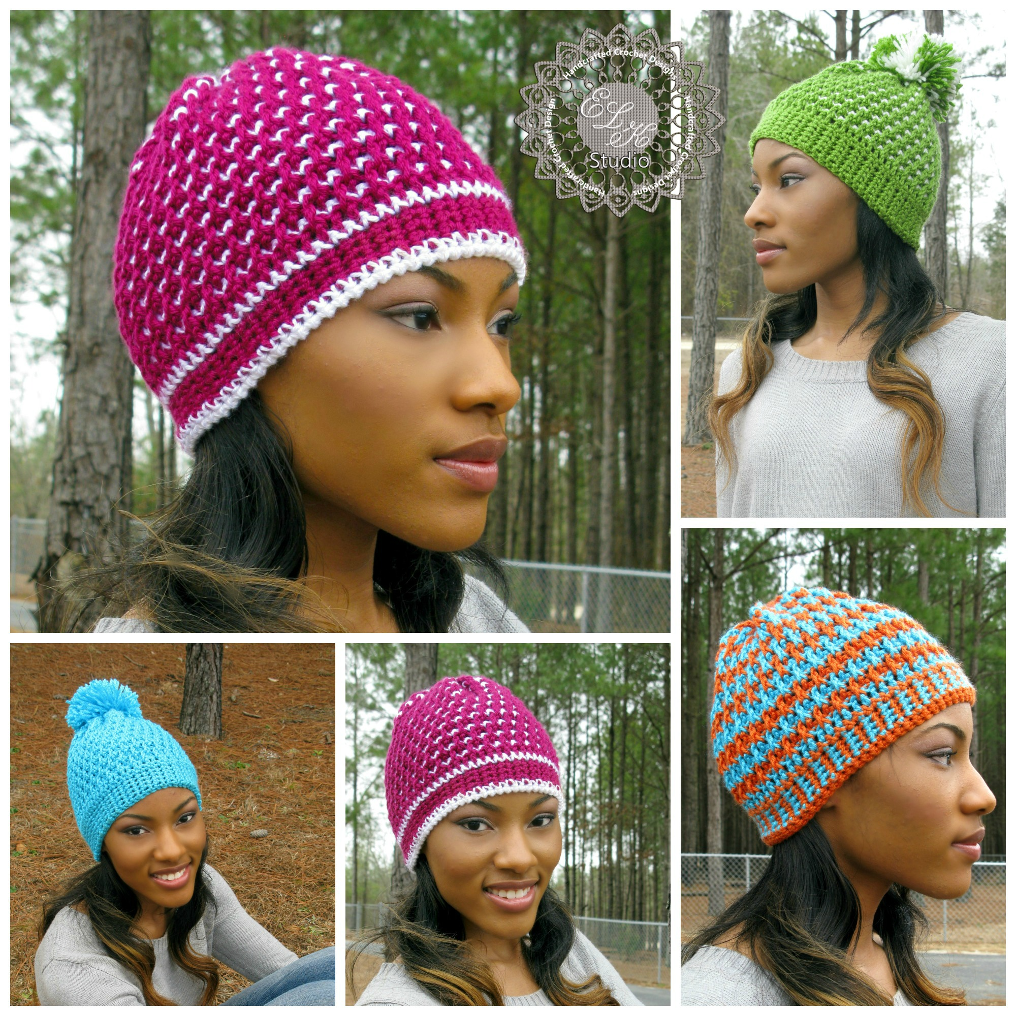 Morning Frost - A Free Crochet Hat Pattern - ELK Studio ...