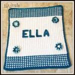 Ella's Free Crochet Baby Blanket Pattern