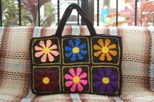 daisy bag by I'm Hooked