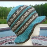 Southern Comfort – A Free Summer Hat Designed for the Crochet For Cancer Organization