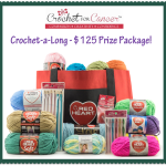 Crochet for Cancer Crochet-A-Long and Red Heart Giveaway Package!