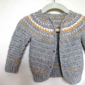 Cardigan by Ball, Hank & Skein