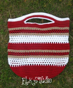 Fun in the Sun Crochet Summer Beach Bag