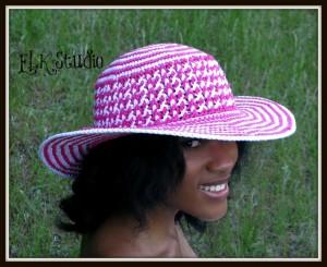Southern Bliss Striped Summer Hat by ELK Studio