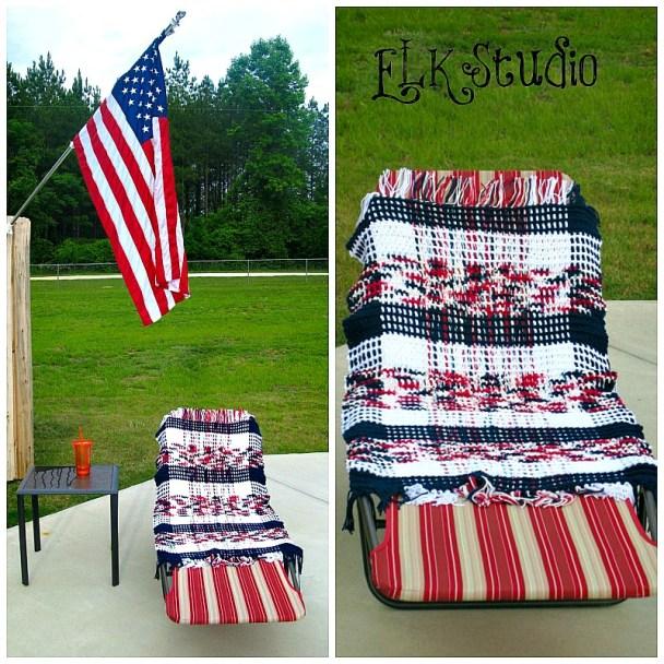 Rockin' Summer beach towel by ELK Studio