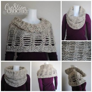 Cityscape Cowl by Cre8tion Crochet