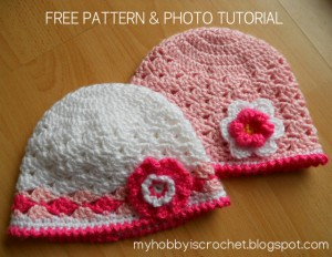 lacy hats by My Hobby is Crochet