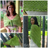 Dixie Charm - A Free Summer Crochet Shawl Pattern