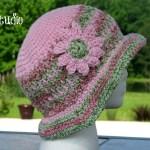 Honeysuckle – A Free Crochet Summer Hat!