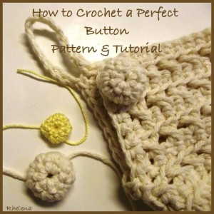 Button Tutorial from Crochet N Crafts