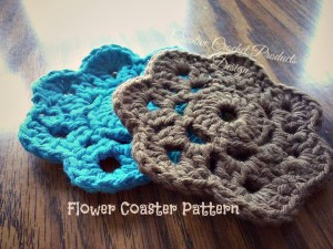 Flower Coaster by Creative Crochet Products