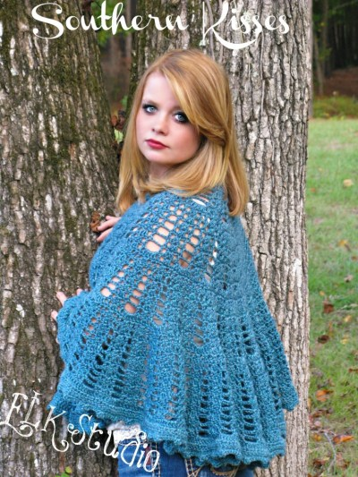Southern Kisses Shawl by ELK Studio