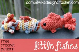 Little Fishes by Oombawaka Designs on ELK Studio's Saturday Crochet Show!