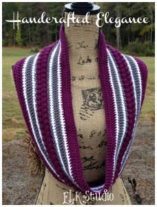 Handcrafted Elegance - A Free Crochet Shawl by ELK Studio #crochetshawl #crochet