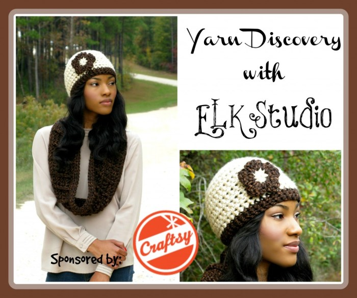 Yarn Discovery by ELK Studio #crochet #yarn