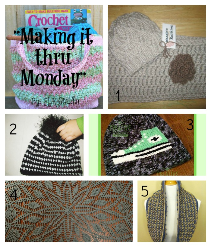 Making it thru Monday Crochet Review #79 by ELK Studio #crochet