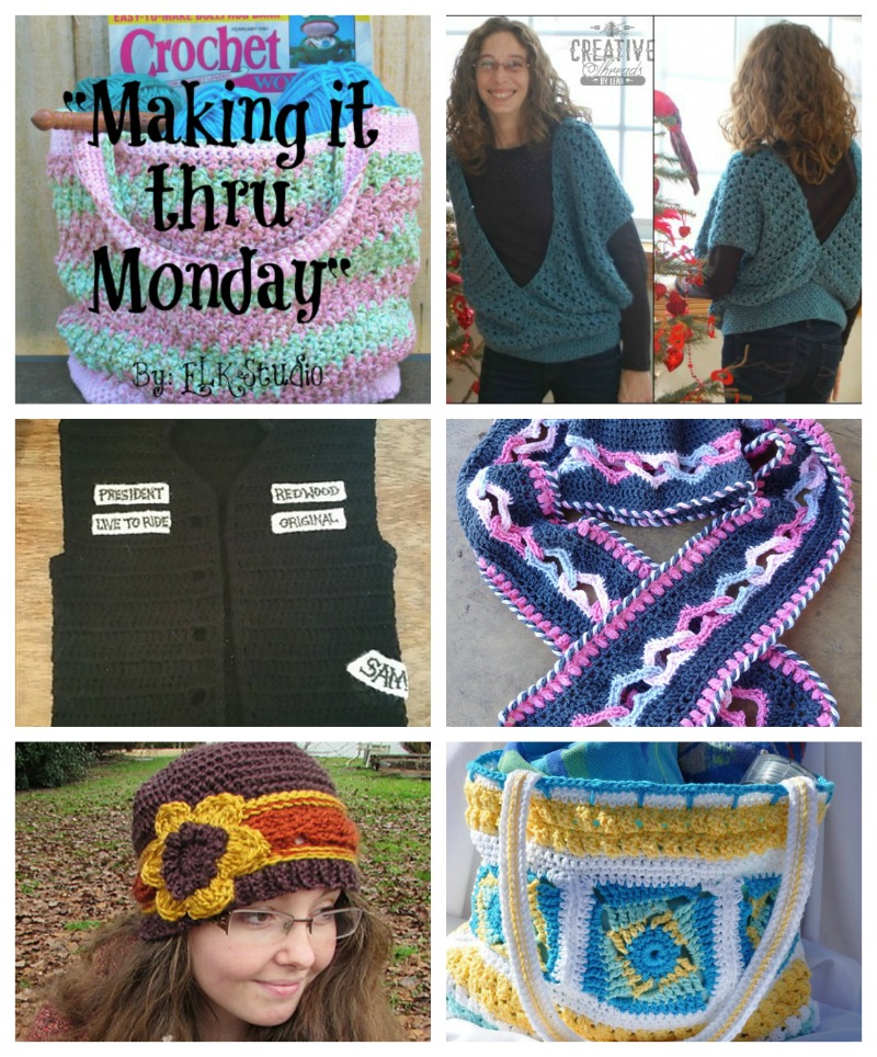 Making it thru Monday Crochet Review #83 by ELK Studio
