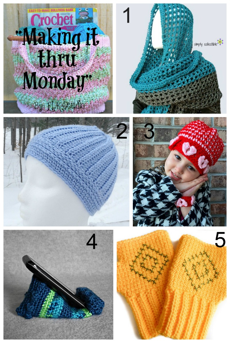 Making it thru Monday Crochet Review 84 by ELK Studio