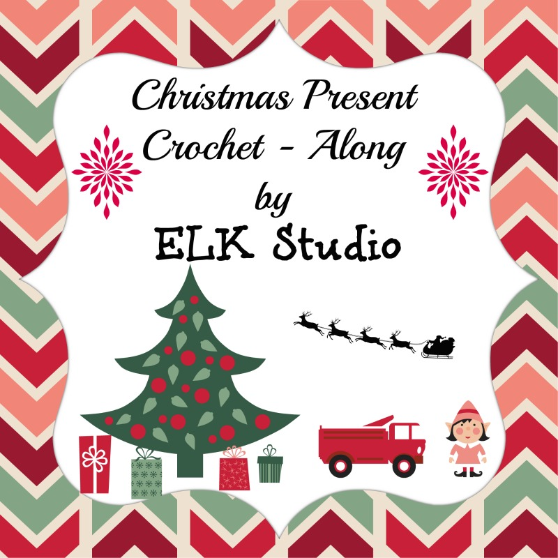 Christmas Present Crochet Along by ELK Studio