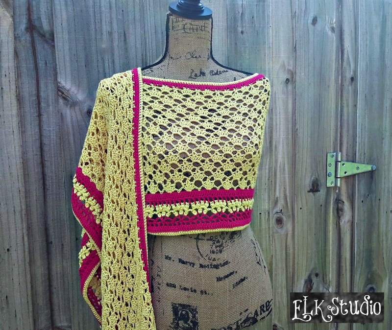 Royal Summer Shawl by ELK Studio