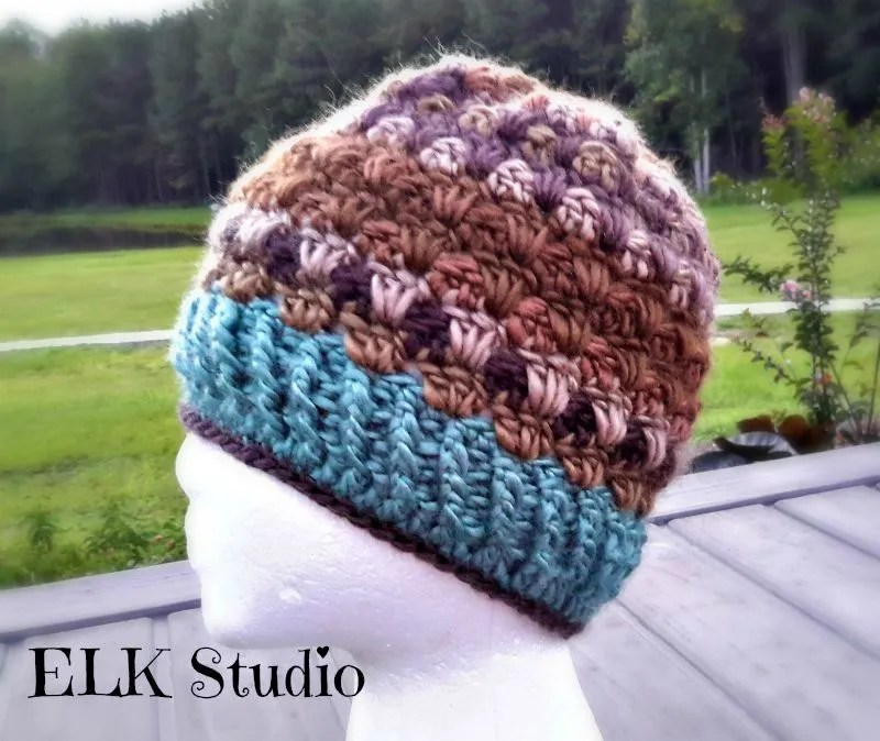 Lookin Lovely Beanie by ELK Studio! Free Crochet Beanie Pattern You will love it!